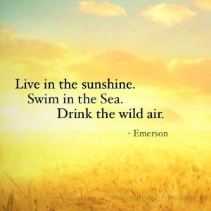 sunshine-quote-inspirational-emerson