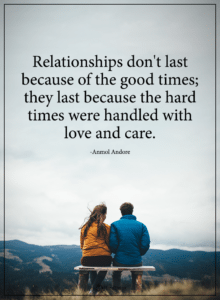 difficult times in relationships
