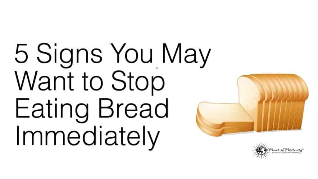 stop eating bread