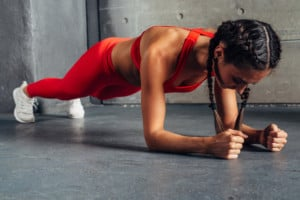 ab workout planks