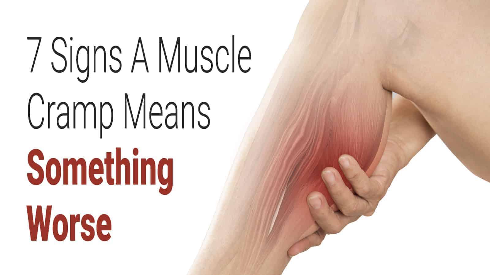 muscle cramp