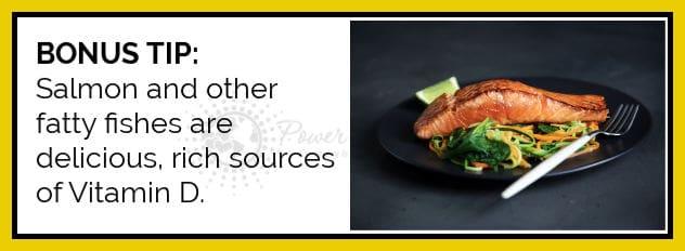 bonus tip salmon and fatty fish