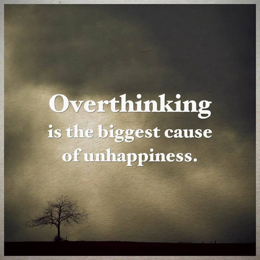 overthinks