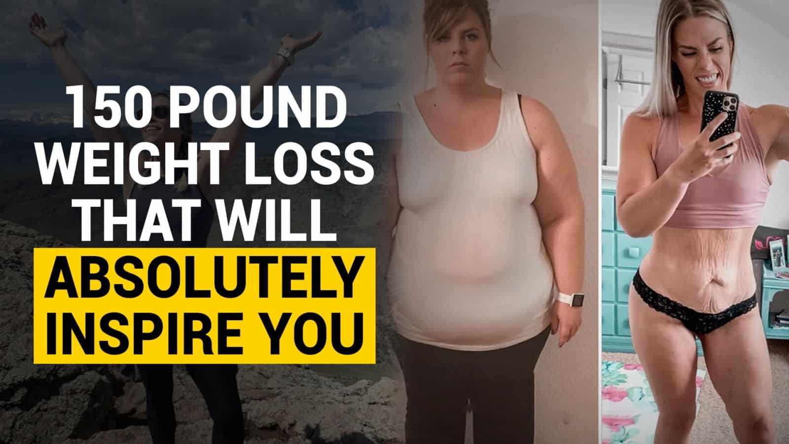 150 pound weight loss