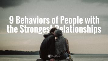 strongest relationships